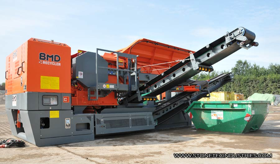 Stonetec Industries Recycling-Anlage 700/7