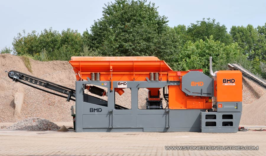 Stonetec Industries Recycling-Anlage